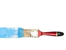 Varkenshaar met blauwe kleur stock afbeelding