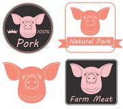 varkensvlees Royalty-vrije Stock Foto