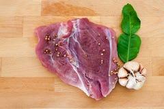 Varkensvlees en Kruiden Stock Afbeelding