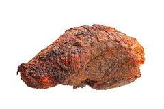 Varkensvlees gebakken vlees Royalty-vrije Stock Foto