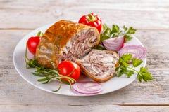 Varkensvlees hoofdkaas royalty-vrije stock foto