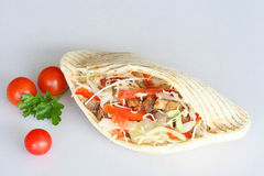Varkensvlees Kebab Stock Afbeeldingen