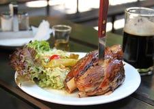 Varkensvlees op het been Royalty-vrije Stock Fotografie