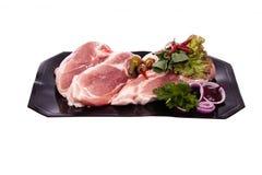 Varkensvlees op het been Stock Foto