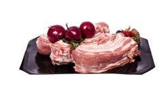 Varkensvlees. stuk Royalty-vrije Stock Foto