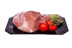Varkensvlees. stuk Stock Foto