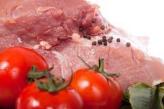 Varkensvlees. stuk Stock Afbeeldingen