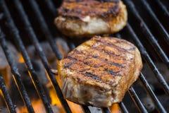 Varkensvleesbbq Stock Afbeeldingen