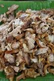 Varkensvleeslapje vlees op de grill Royalty-vrije Stock Afbeeldingen