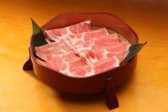 Varkensvleesplak Royalty-vrije Stock Afbeelding