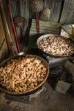 Varkensvleessnacks Royalty-vrije Stock Foto