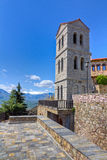 varlaam för torn för kloster för klockagreece meteora Royaltyfri Bild