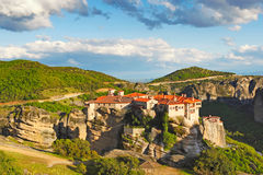 Varlaam Monastery in Meteora, Greece Stock Photos