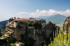 Varlaam Monastery Meteora Greece Royalty Free Stock Photography