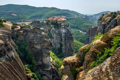 Varlaam Monastery in Meteora0 Stock Photography