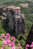 Varlaam monastery at Meteora in Trikala region in summer, Greece Stock Photography