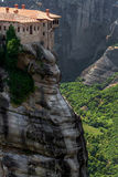 Varlaam monastery at Meteora in Trikala region in summer, Greece Stock Images