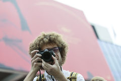 Varlamov肠骨出席第70每年戛纳电影节 免版税库存照片