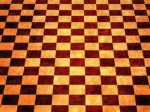 varm bakgrundsschackbräde Arkivbild