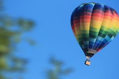 varm ballong Arkivbild