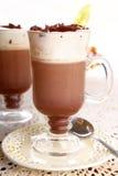 varm choklad Arkivfoton