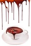 varm choklad Royaltyfri Fotografi