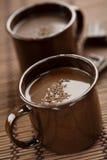 varm choklad Arkivbild