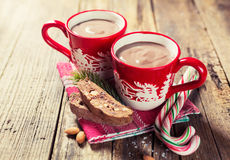 varm choklad Arkivbilder