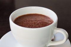 varm choklad Fotografering för Bildbyråer
