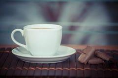 varm chokladdrink Royaltyfri Fotografi