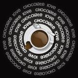 varm chokladkopp stock illustrationer