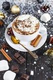 varm chokladkopp Royaltyfria Bilder