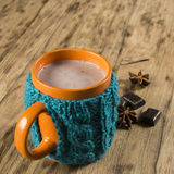 varm chokladkopp Royaltyfri Foto