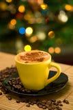 varm coffe Fotografering för Bildbyråer