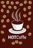 varm coffe Royaltyfri Fotografi
