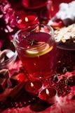 Varm drink för vinter Arkivbilder