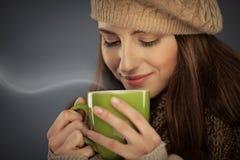Varm drink för vinter arkivfoton