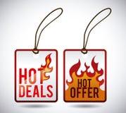 varm försäljning Arkivbild