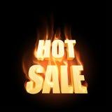 varm försäljning Vektor Illustrationer