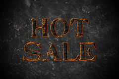 varm försäljning Royaltyfri Fotografi