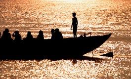 varm flod Fotografering för Bildbyråer