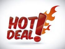 varm försäljning Royaltyfria Bilder
