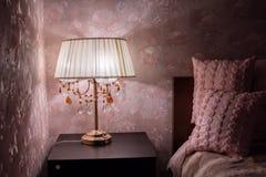 Varm hemtrevlig lampa Royaltyfria Foton