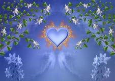 varm hjärta Royaltyfria Bilder