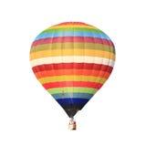 varm isolerad white för luftballong Arkivbilder