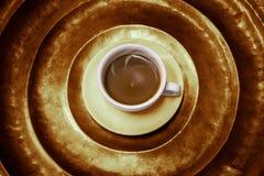 Varm kaffeantikvitet Arkivbilder