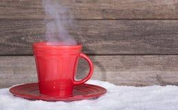 varm kaffekopp Royaltyfria Foton