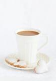 varm kakaokopp Arkivbilder
