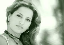 varm latinsk modell för kvinnlig Royaltyfri Bild