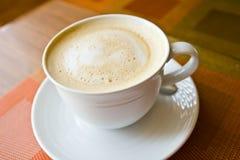 Varm latte för kaffe Arkivfoton